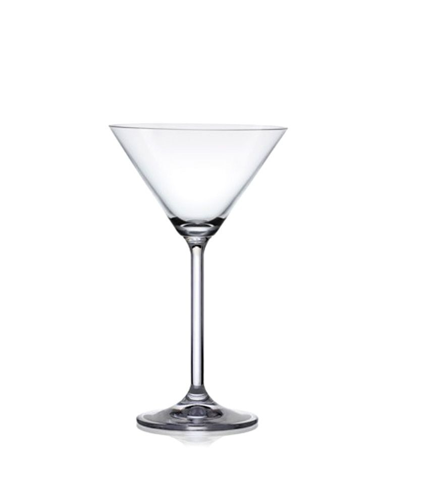 BAR-0-340 ml- 4 COPAS COCKTAIL MARTINI -BOHEMIA