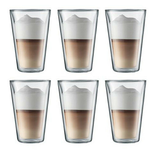 CANTEEN-0-400 ml-6 VASOS DOBLE PARED GRANDES- BODUM