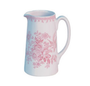 BURLEIGH-PINK ASIATIC-284 ml-JARRA TANKARD PEQUENA